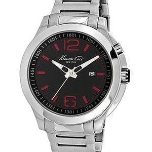 1022557 Mens Silver Kenneth Cole Watch