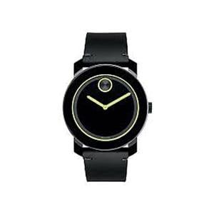 3600273 Mens Black Movado Watch