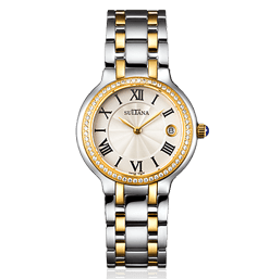 382204 Silver & Gold Sultana Watch