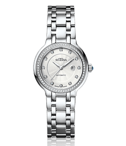 390201 SIlver Sultana Watch