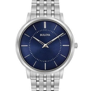 96A188 Silver Bulova Watch