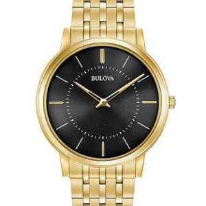 97A127 Gold Bulova Watch