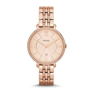 ES3546 Ladies Rose Gold Fossil Watch