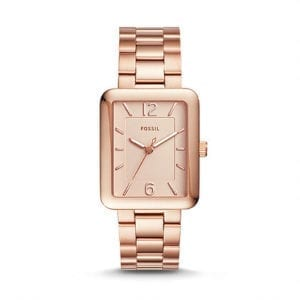 ES4156 Ladies Rose Gold Fossil Watch