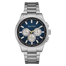 NAL19533G Mens Silver Nautica Watch