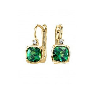 SCG1793-07 Yellow Gold Earrings