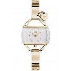 Ladies Storm Tempress Gold Watch