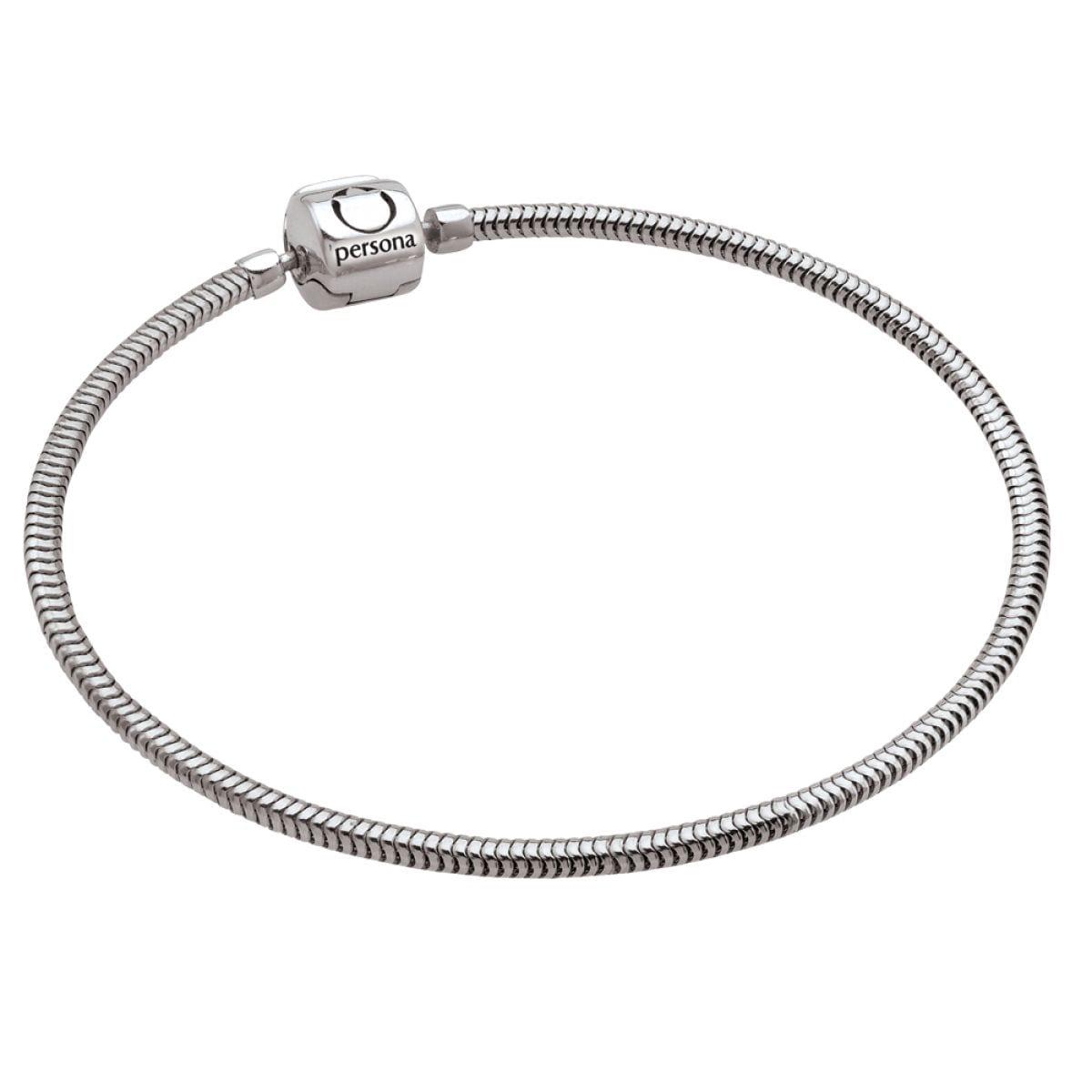 3f1736b85 Ladies Persona Sterling Silver Charm Bracelet - Bocian Jewellers